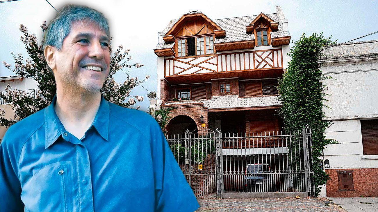 La imponente casona donde vive Amado Boudou