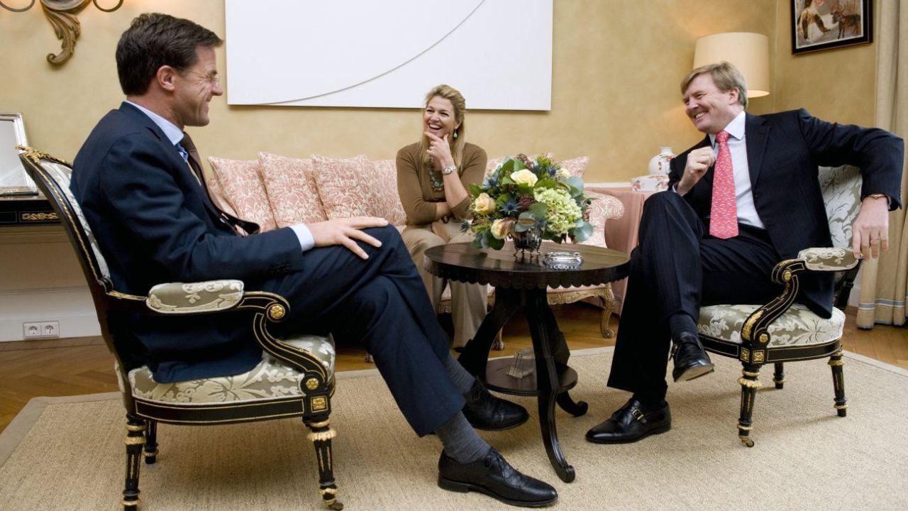 Rutte, aliado del rey y la reina, buscará la reelección.  | Foto:AFP