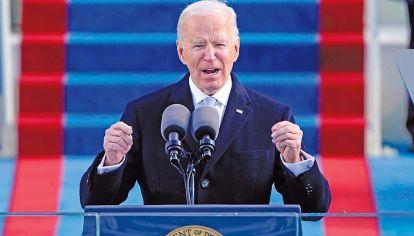 Esperado. Acto de asunción del presidente Joe Biden y Kamala Harris.