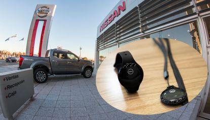 Dispositivo de Distanciamiento Físico en Concesionarios Nissan
