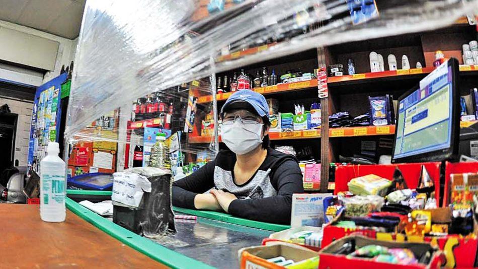 20210123_cajera_supermercado_coronavirus_cedoc_g