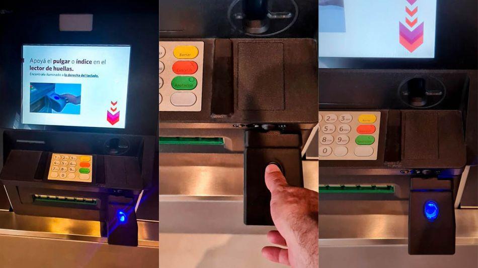 cajeros automáticos que operan con huella digital 20210122