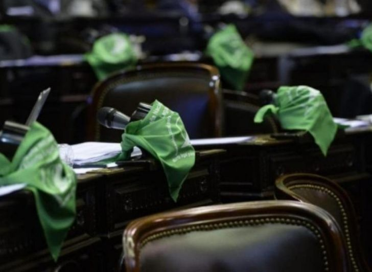 LEGALIZACIÓN DEL ABORTO. El 30 de diciembre el Senado de la Nación convirtió en ley la interrupción voluntaria del embarazo por 38 votos a favor, 29 en contra y una abstención.