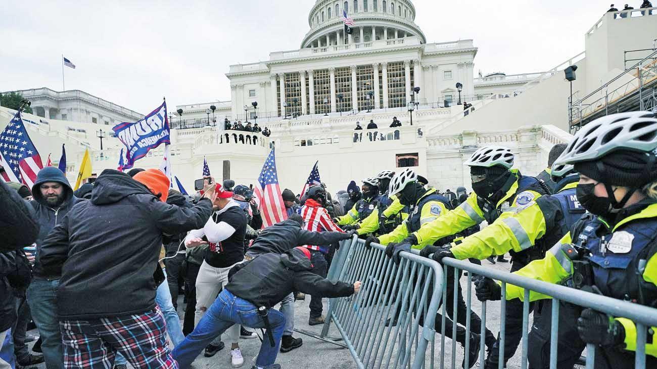Washington. Un llamado de atención para una nación que se considera a sí misma como el gran ejemplo del sistema democrático.