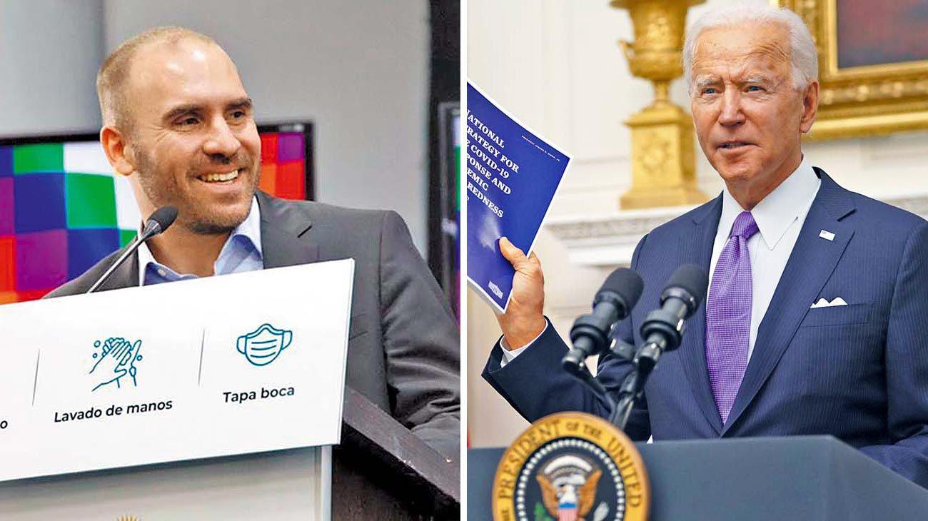 Diálogo. Guzmán, que ayer viajó a Chaco, conduce la negociación con el organismo internacional.
