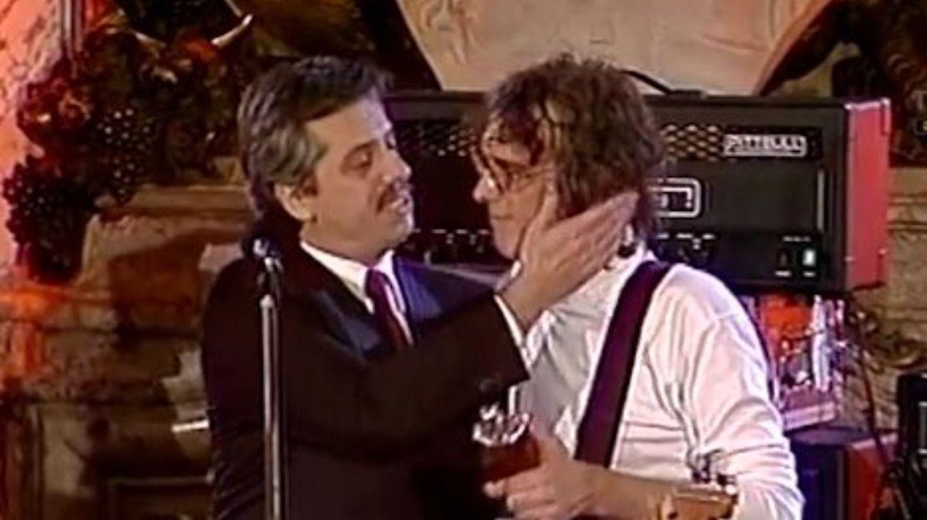 El día que Alberto Fernández, siendo el jefe de Gabinete, presentó a Luis Alberto Spinetta.