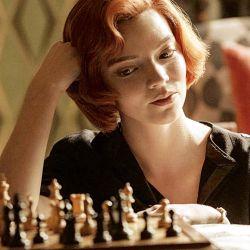 Anya Taylor-Joy, la protagonista de Gambito de Dama | Foto:Netflix