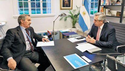 Otros tiempos. El Presidente ahora le volvió a aplicar frío al canciller argentino.