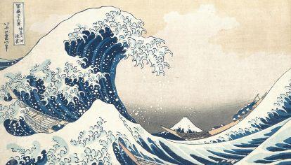 Katsushika Hokusai. La gran ola de Kanagawa, 1830.