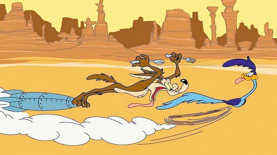 El Coyote y el Correcaminos. Estos personajes significaron momentos felices.