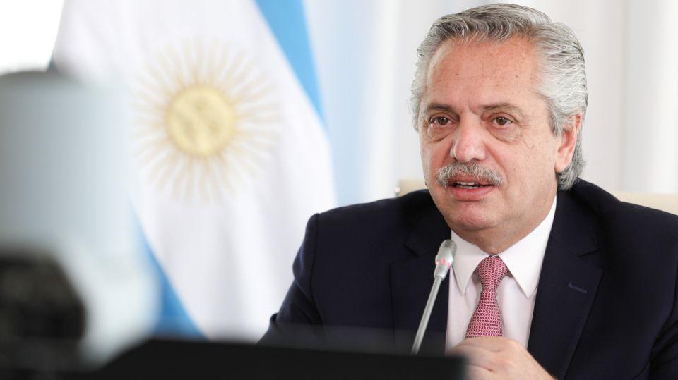 Alberto Fernández Cumbre Climática 2021