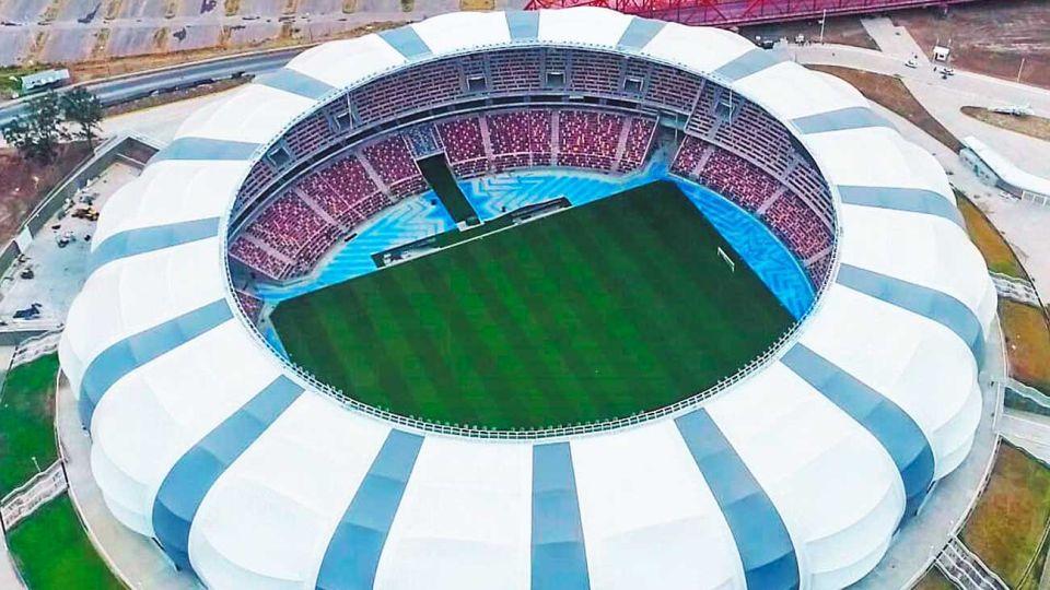 Imponente. El Estadio Único de Santiago del Estero será sede de la Copa América 2021.