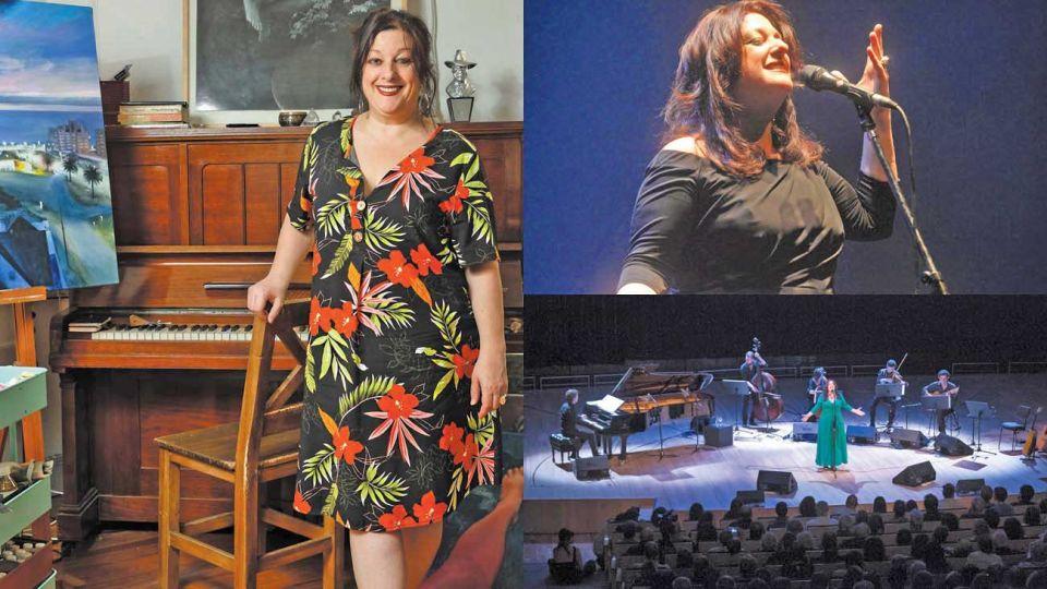 """Leyenda. La cantante es un nombre aparte en su género. Proyecto. Sigue en marcha su """"Caramelos surtidos"""", donde hace versiones musicales de otros artistas."""