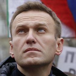Alexei Navalny en  una protesta en Rusia | Foto:Reuters