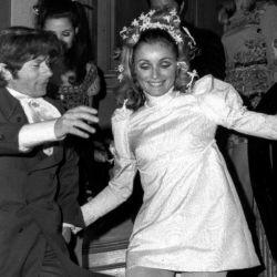 Sharon Tate, esposa del director Roman Polanski.