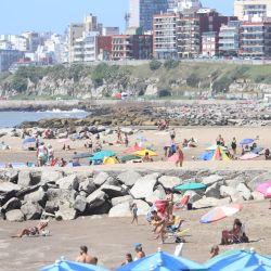 Temporada en Mar del Plata.