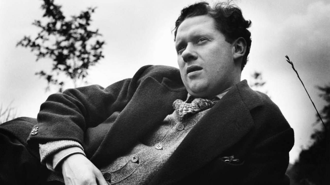 Dylan Marlais Thomas (Swansea, Gales, 1914 - Nueva York, 1953).