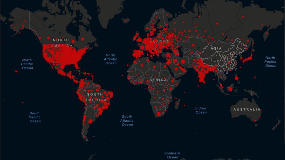 mapa del coronavirus 20210125