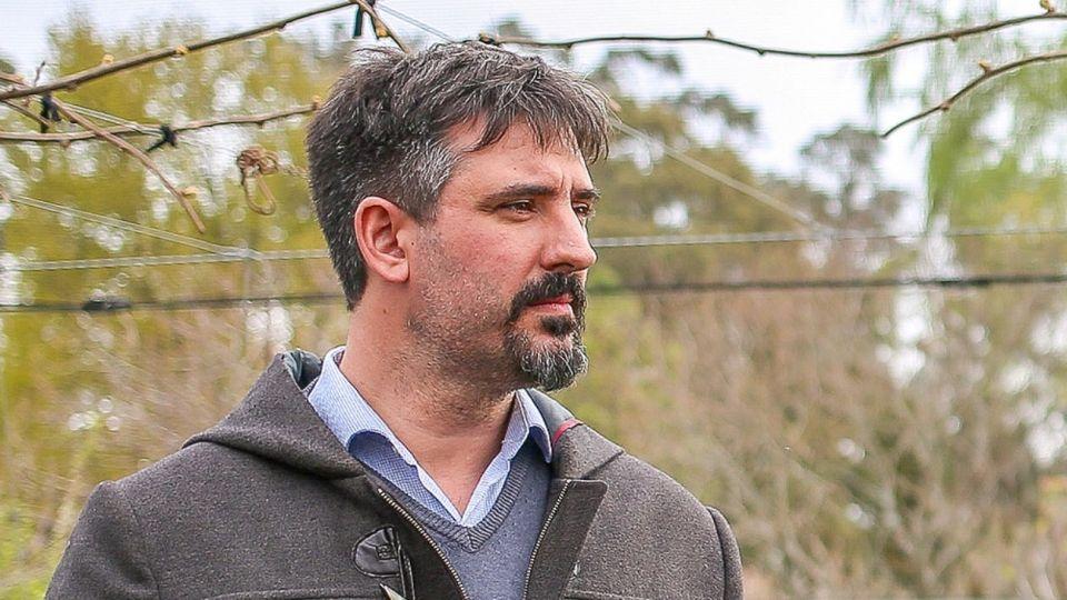 El intendente del partido bonaerense de General Alvarado, Sebastián Ianantuony.
