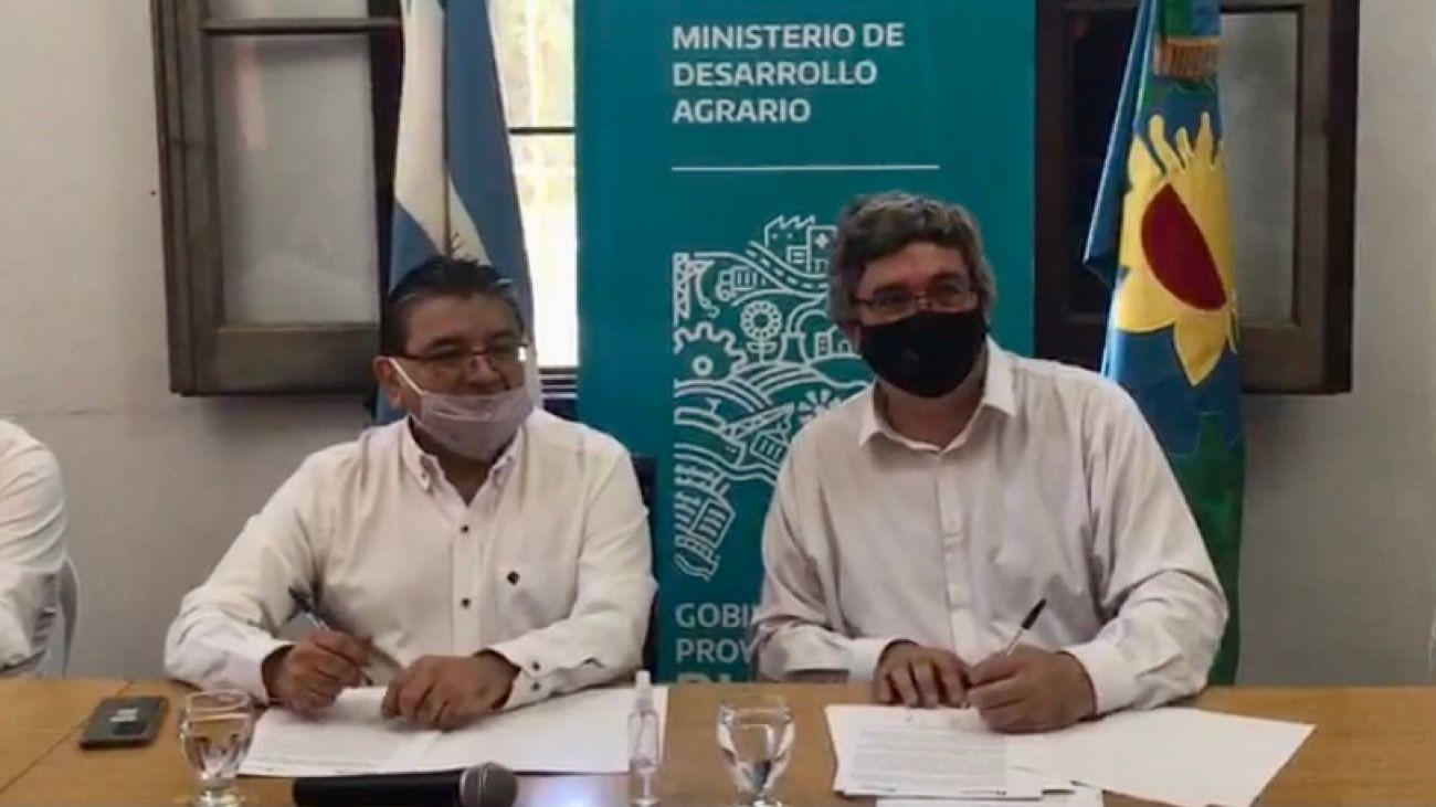 José Voytenco y Javier Rodríguez