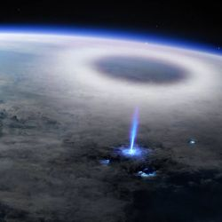 Las imágenes fueron creadas a partir de los datos recopilados por el Monitor de Interacciones Atmósfera-Espacio (ASIM) de la Estación Espacial Internacional.