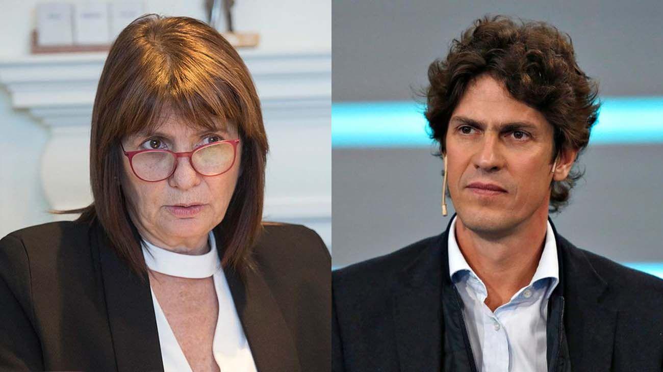 Patricia Bullrich y Martín Lousteau