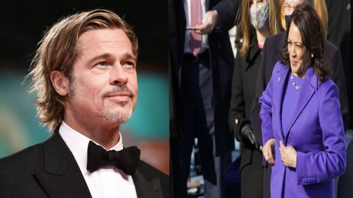 El curioso vínculo que une a Brad Pitt con Kamala Harris