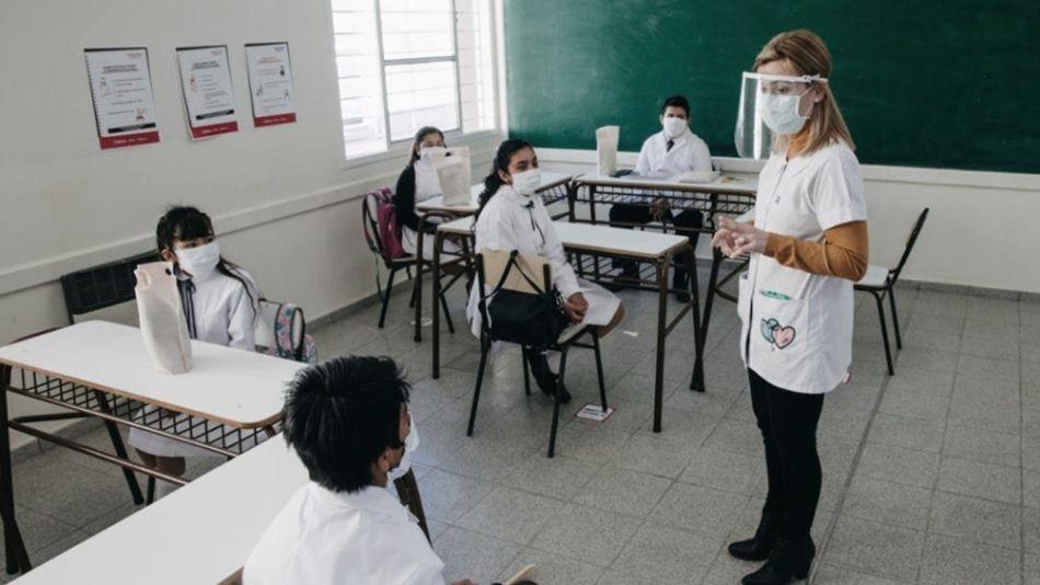 Clases en provincia de Buenos Aires