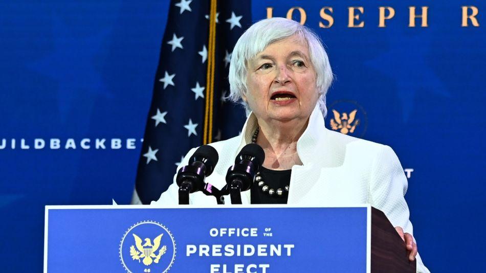 Janet Yellen, secretaria del Tesoro de los Estados Unidos.