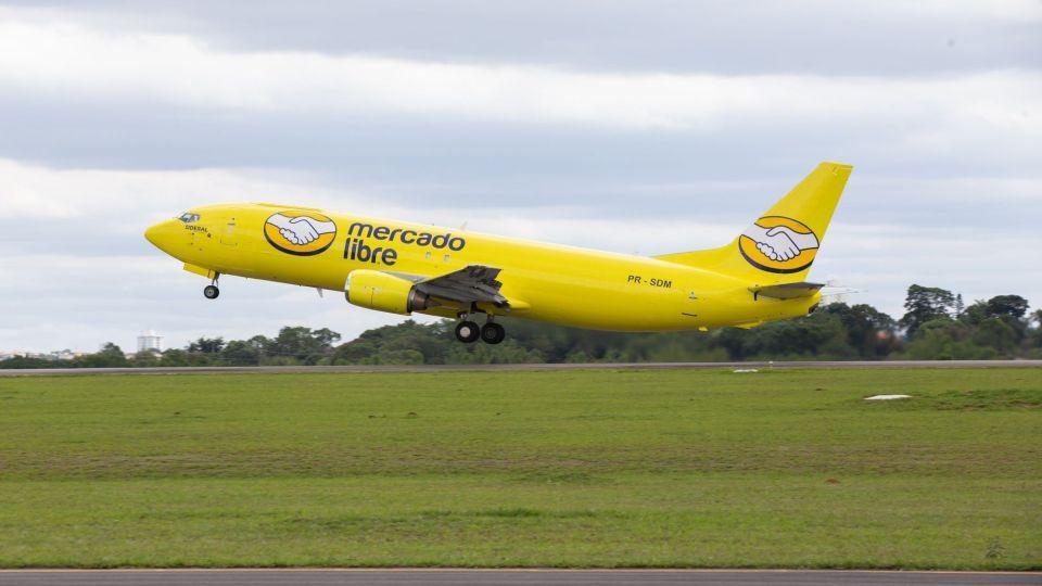 MercadoLibre's aircraft