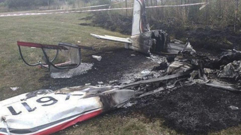 La aeronave Rans S-19 sufrió el impacto contra la tierra alrededor de las 14.
