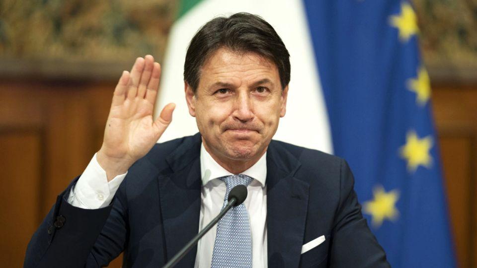 Giuseppe Conte, ex primer ministro italiano.