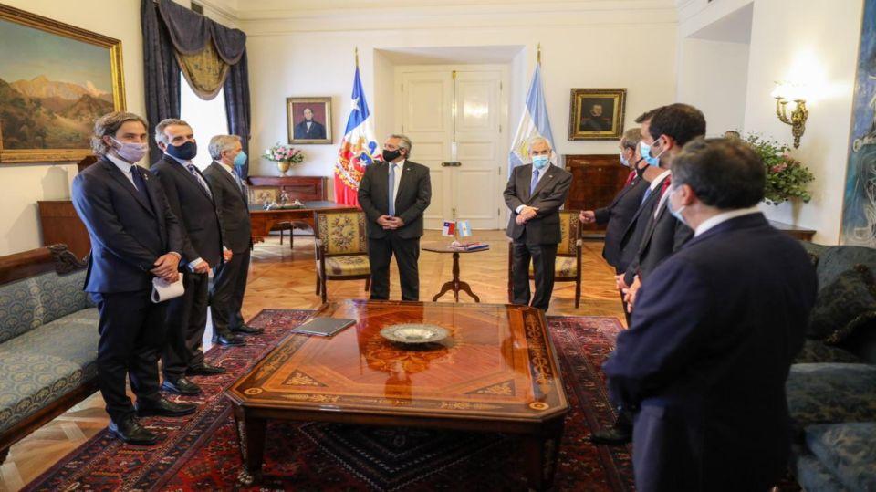 alberto fernandez gira Chile 20210117