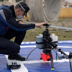 Los drones les serán de gran ayuda a los 216 agentes de la policía madrileña que controla los accesos vehiculares a la ciudad.