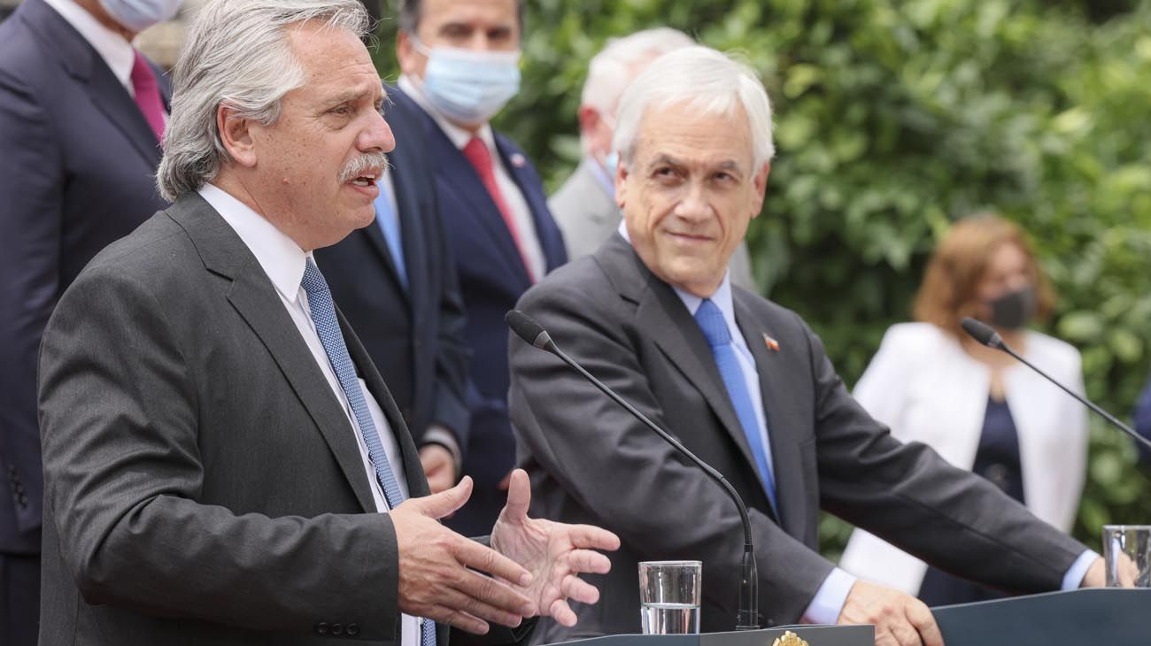 Gira del presidente Alberto Fernández en Chile
