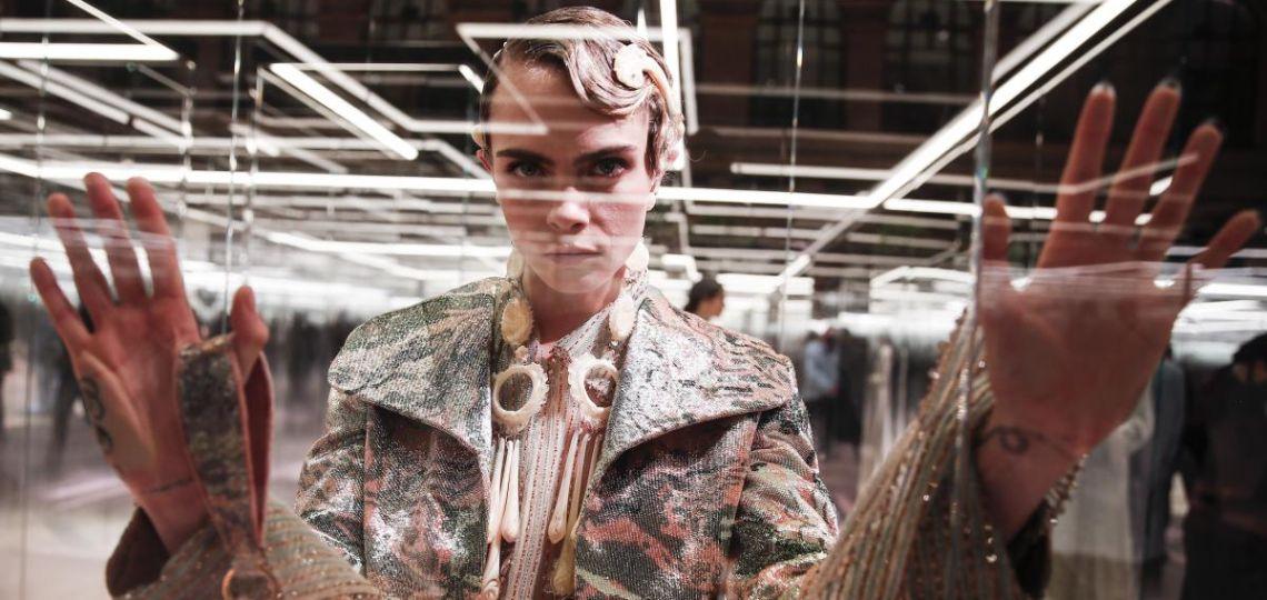 Literatura y moda, Fendi lanza su colección inspirada en una novela