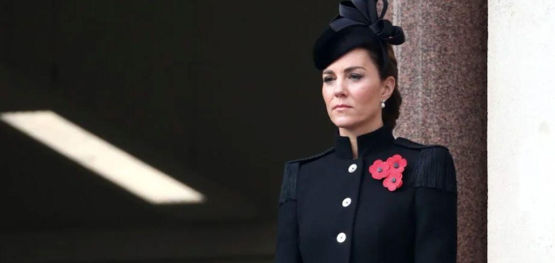 El tributo fashionista de Kate Middleton a Kamala Harris