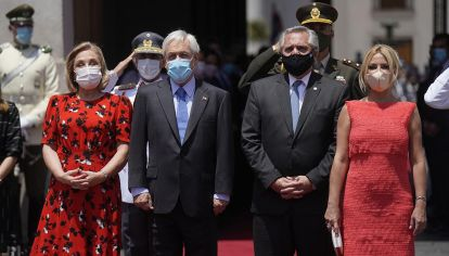 Presidentes Alberto Fernandez Sebastian Piñera