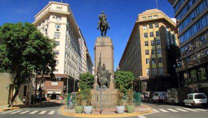 Monumento a Julio Argentino Roca.