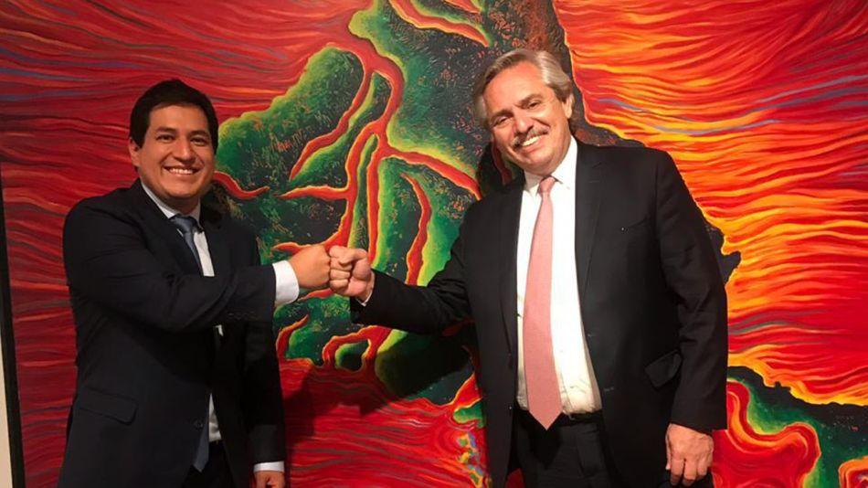 Alberto Fernández Andrés Arauz 20210127