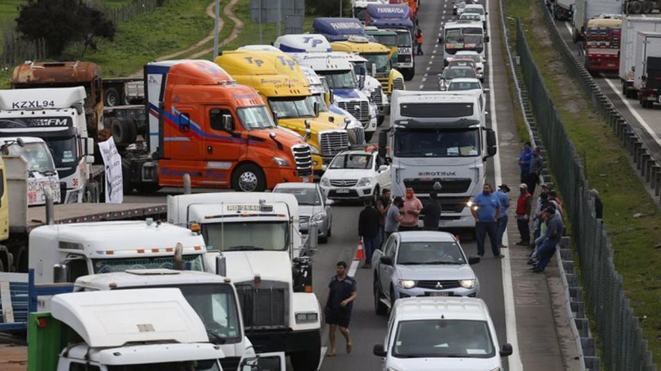 Paro de camioneros 20210127