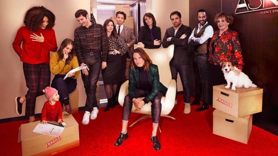 La exitosa serie francesa 'Ten per cent', inspirada en su creador Dominique Besnehard, agente de estrellas de cine.