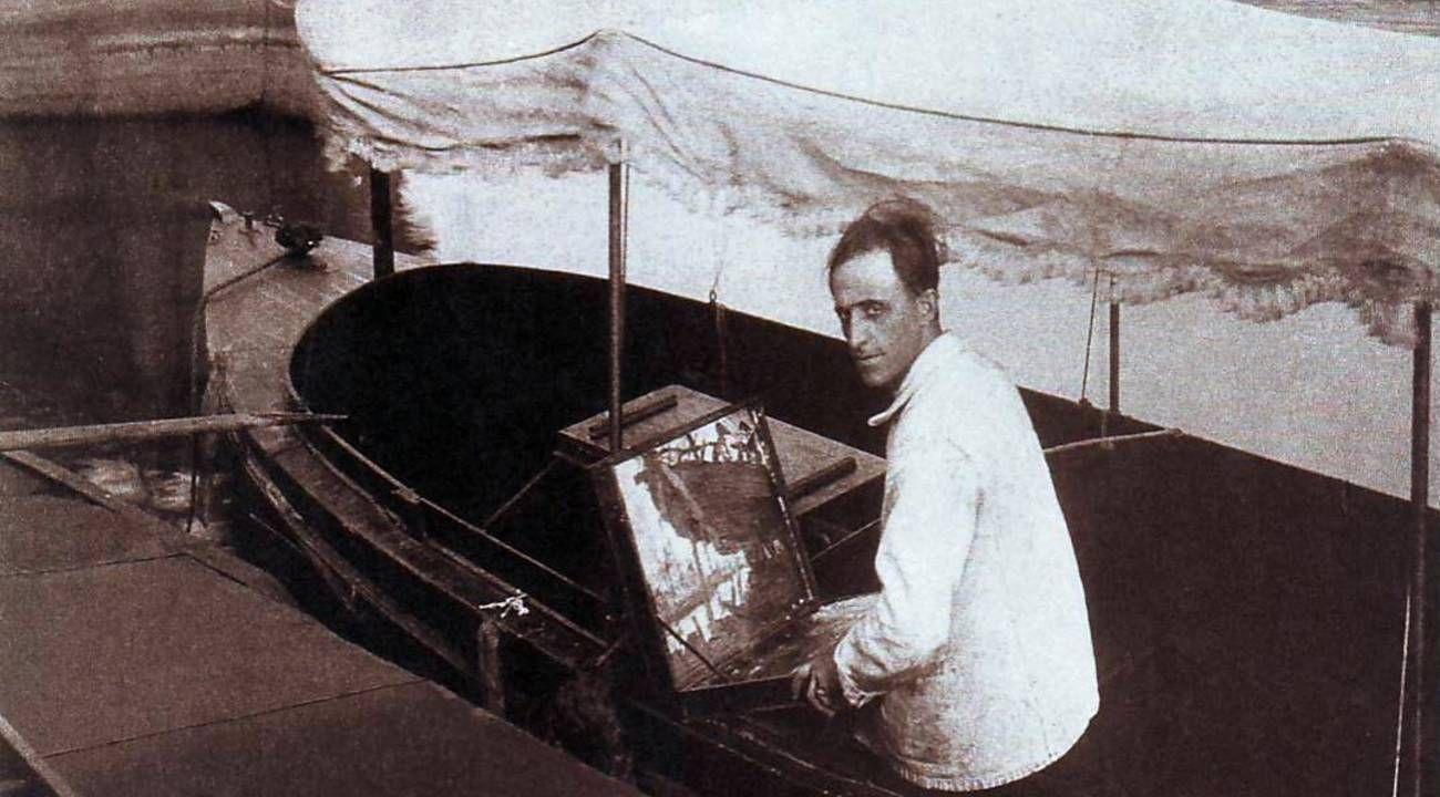 Retrato de Benito Quinquela Martín