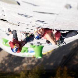 Janja Garnbret y Domen Skofic son dos escaladores con vasta experiencia.