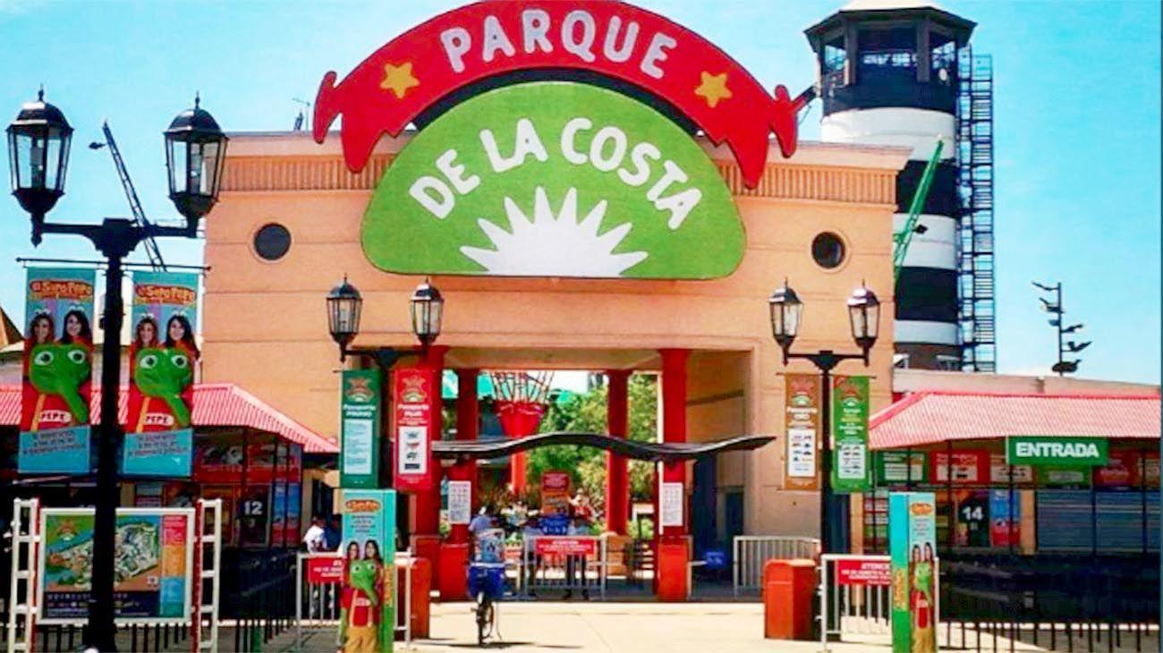 Parque de la Costa cerrado