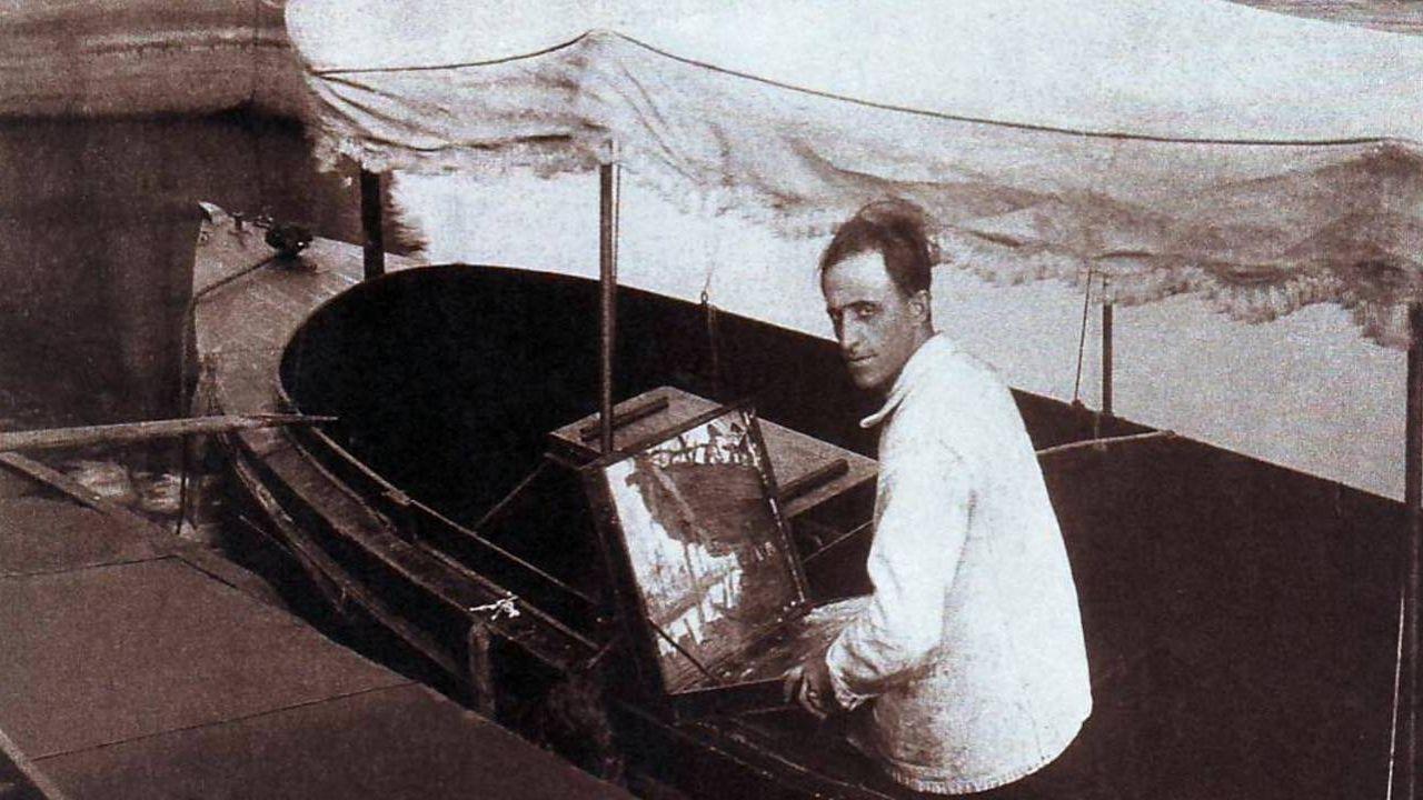 Retrato de Benito Quinquela Martín | Foto:Cedoc.