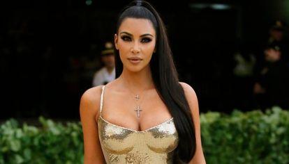 ¡Adiós al morocho! Kim Kardashian presentó una nueva imagen al mundo