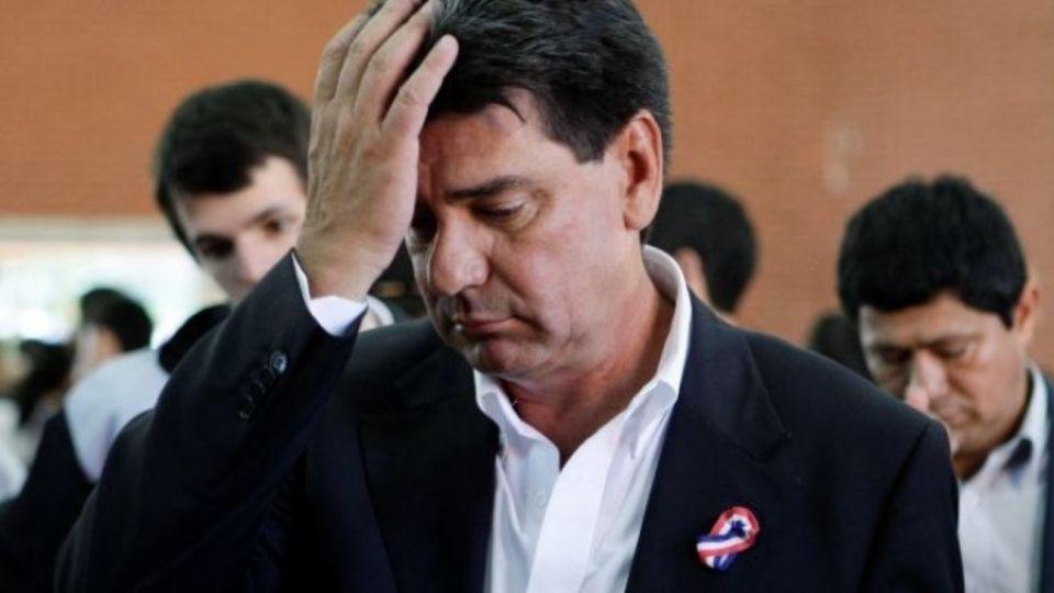 Ordenan el encarcelamiento de Efraín Alegre, excandidato presidencial y titular de la principal fuerza de oposición.