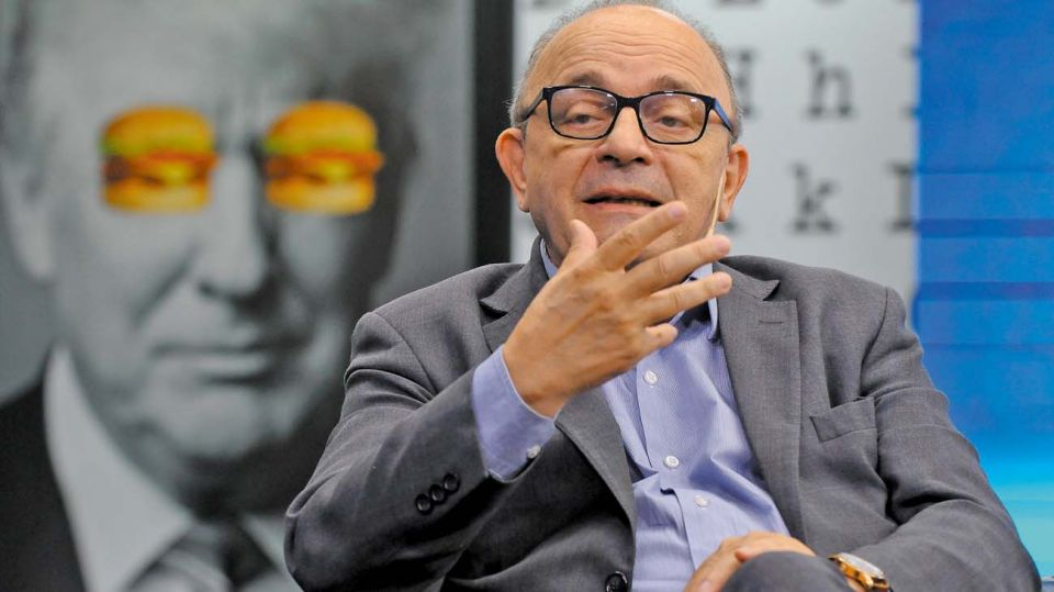 Leopoldo Moreau, en la entrevista con Jorge Fontevecchia.