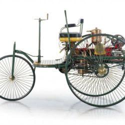 El Benz Patent-Motorwagen fue considerado el primer vehículo de la historia diseñado para ser impulsado por un motor de combustión interna.